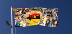Germanys next Flagge mit Skywalker, by Steff Adams